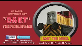 Dart the Diesel  - OO Conversion Test Video