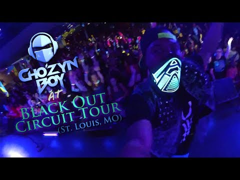 Cho'zyn Boy at Black Out Circuit Tour