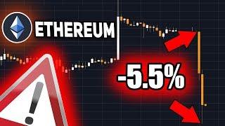 ОСТОРОЖНО! Ethereum Страшное Событие! ETH Под Угрозой Атаки 51% Январь 2019 Прогноз