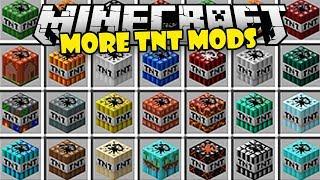 MINECRAFT MODS | MAS DE 100 TNT , NUKES Y DINAMITAS | MINECRAFT VIDEOS