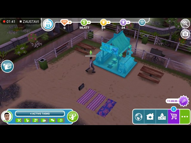 Sims Freeplay - Snorkeling