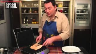 GFGril книга рецептов - готовим стейк из лосося