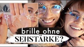 Warum wir jetzt beide eine Brille tragen - Blaufilterbrillen im Test | MANDA Vlog