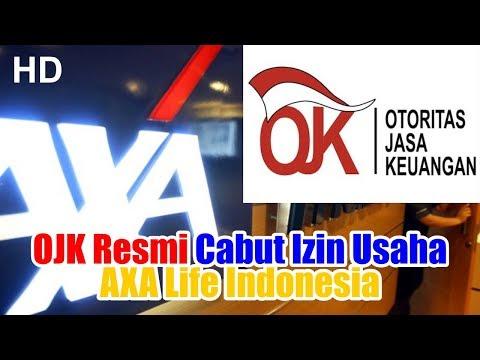 OJK Resmi Cabut Izin Usaha AXA Life Indonesia
