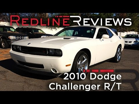 2010 Dodge Challenger R/T Review, Walkaround, Exhaust, Test Drive