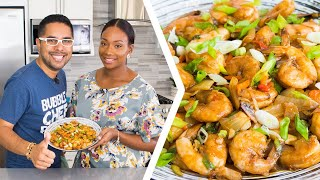 How To Make Trini Pepper Shrimp | Foodie Nation