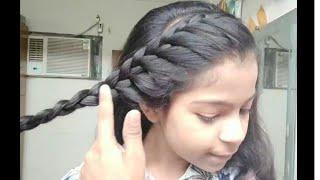 छोटे और पतले बालों के लिए हेयरस्टाइल.  NEW Hairstyles For GIRLS