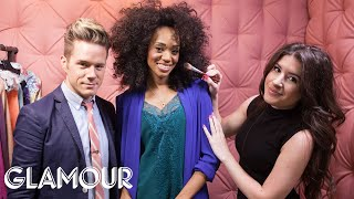 How to Color Block like a Pro - Elevator Makeover | Style & Beauty | Glamour