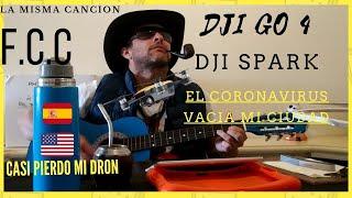 DRON DJI SPARK PIERDO SEÑAL A PESAR DE CABLE OTG Y CASI LO PIERDO.