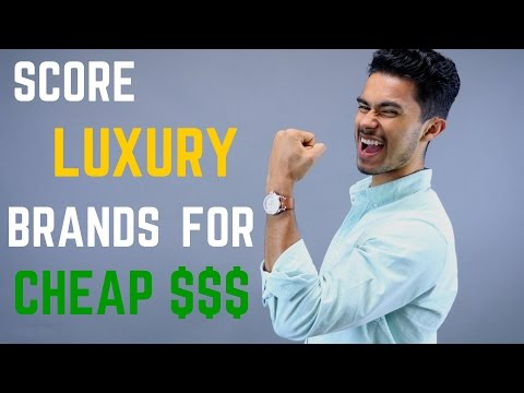 5 Tricks to Score Expensive Luxury Brands For Less