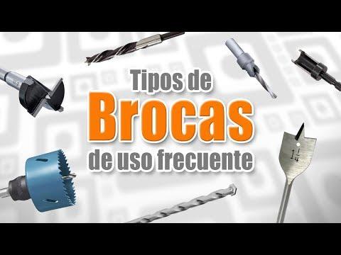 Tipos de brocas de uso frecuente - DIY