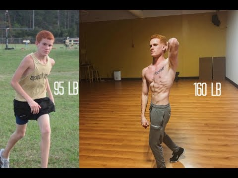 Insane Ectomorph Natural Skinny Body Transformation - Aesthetic transformation