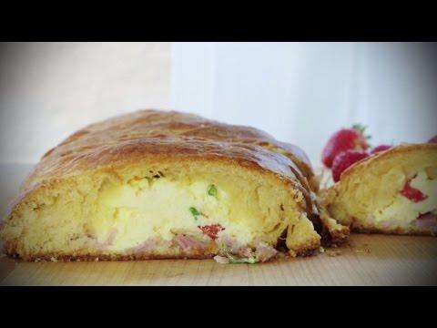 Brunch Recipes – How to Make Scrambled Egg Brunch Bread