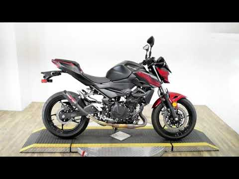 2019 Kawasaki Z400 ABS in Wauconda, Illinois - Video 1