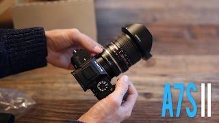 A7s II Unboxing / Test Shots