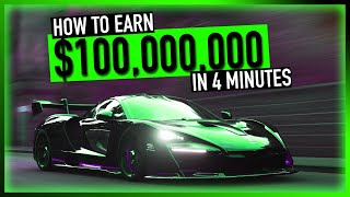 HOW TO EARN $100,000,000 in 4 minutes!!! - Forza Horizon 4 - $1,000,000,000CR Giveaway