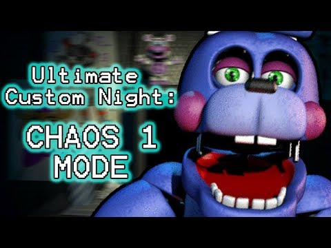 YENNDO PLAYS: Ultimate Custom Night (Part 19) || CHAOS 1 MODE COMPLETED!!!