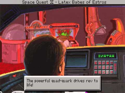 c-square's DOS Space Quest IV: Roger Wilco and the Time Rippers in 07:36,51