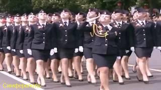 Российские женщины на параде Победы 2017! От Владивостока до Калининграда!