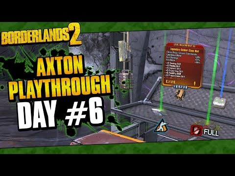 Borderlands 2 | Axton Reborn Playthrough Funny Moments And Drops | Day #6