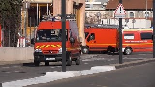 preview picture of video 'Spéciale - épisode de mistral sur Nîmes - pompiers'