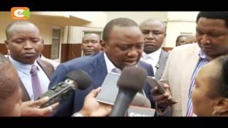 Moi, Kenyatta wamuomboleza Ntimama