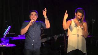 "Natalie Weiss & John Pinto Jr. - ""No More Tears (Enough is Enough)"""