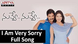 I Am Very Sorry Full Song II Nuvve Nuvve Movie II Tarun
