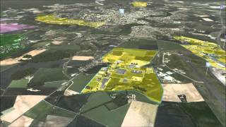 preview picture of video 'Economic promotion of Châteauroux city (France)'