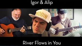 River Flows In You - Yiruma  Igor Presnyakov & Alip Ba Ta Reaction  // (이루마) // Guitarist Reacts