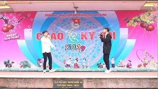 Bông hoa chẳng thuộc về ta |Việt, Deus - Ha Trung Hieu, Nguyen Tien Manh | Live THPT Mê Linh