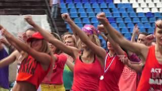 Флэш Mоб на стадионе Спутник * ЗУМБА * Тольятти - 2018