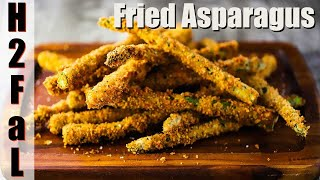 Appetizers | FRIED ASPARAGUS | How To Feed A Loon
