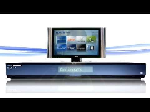 HUMAX Icord HD+ Satreceiver im offiziellen Demofilm