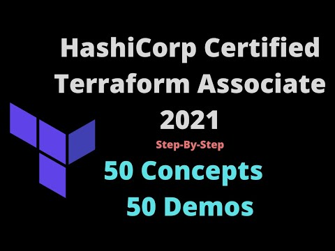 HashiCorp Certified Terraform Associate - 50 Concepts and 50 ...