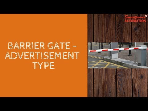 Advertisement Barrier Gate