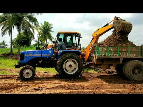Sonalika DI 47 RX 50 hp Tractor with fully loaded trolley |#Sonalikatractorpower |#CFV
