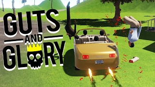 YANG FAMILY RAMPAGE! - Guts and Glory Gameplay - Guts and Glory Update - Funny Moments
