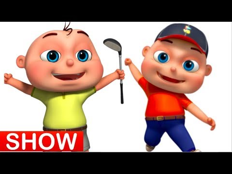 Zool Babies Playing Golf | Cartoon Animation For Children | Zool Babies Series