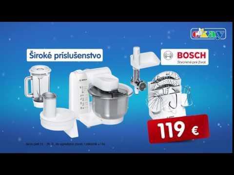Kuchynský robot Bosch + Black Friday