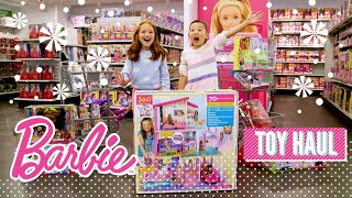 2018 Barbie Holiday Haul at the Mattel Toy Store   @Barbie