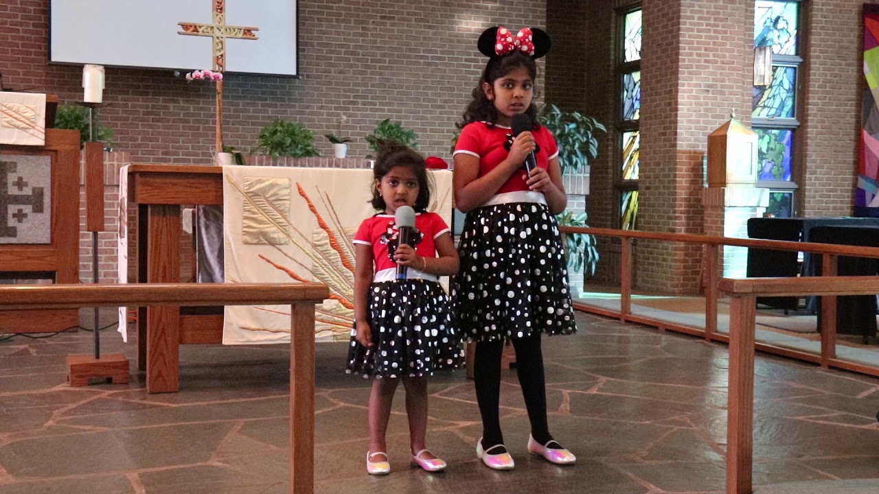VIDEO: Bless the Lord by Caroline and Jocelyn