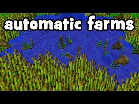 automatic farms that wont get you banned (hypixel skyblock)