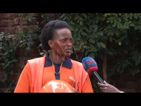 Wuuno omukyala eyettanidde Safe Boda