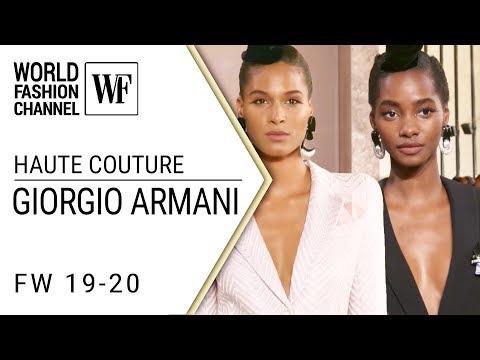 Giorgio Armani Prive haute couture FW 19-20