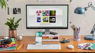 Video 0 of Product Logitech K580 Slim Multi-Device Wireless Keyboard (920-009270)