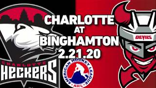 Checkers vs. Devils | Feb. 21, 2020