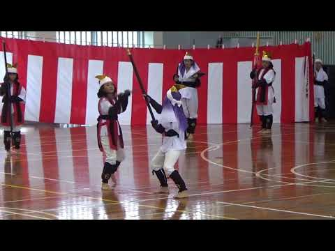 2017年度 沖縄県石垣市立大浜小学校 棒術引継ぎ式
