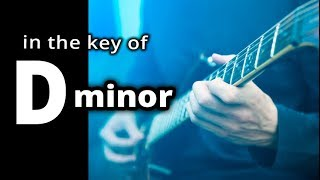METAL BACKING TRACK: Uptempo hard rock shuffle in ★ D MINOR ★ Guitar Jam Track