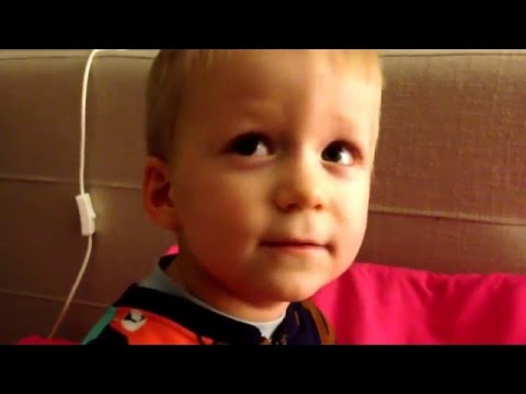 Отче Наш (молитва) 2-х летний малыш